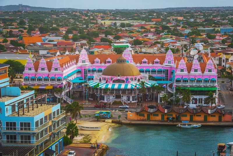 The Colorful Town Of Aruba - Aruba, Caribbean Islands