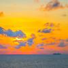 Sailing Into The Red Sunset - Aruba, Caribbean Islands