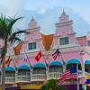 The Pink Center Of Town In Aruba - Aruba, Caribbean Islands