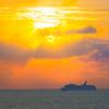 Surreal Sunset At Seas - Aruba, Caribbean Islands
