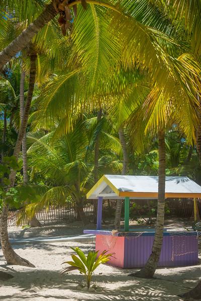 The Color Hut On The Island - Salt Kay, Bahamas, Caribbean