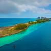 Passing Nassau Lighthouse Into Nassau - Nassau, Bahamas, Caribbean