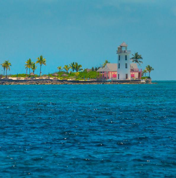 A Secluded Lighthouse In The Bahamas - Sun Kay,  Bahamas, Caribbean