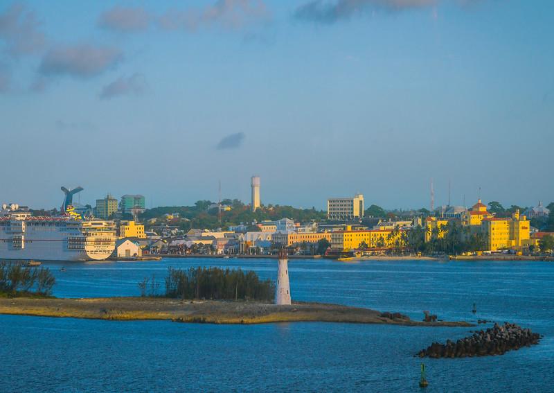 Late Afternoon Light On Nassau