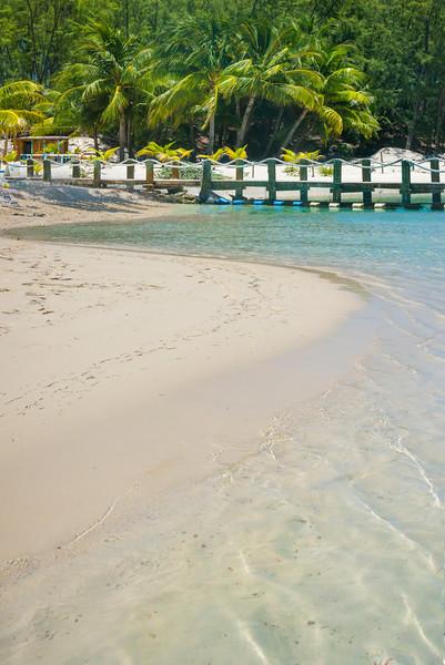 S Curve Into The Pier - Salt Kay, Bahamas, Caribbean