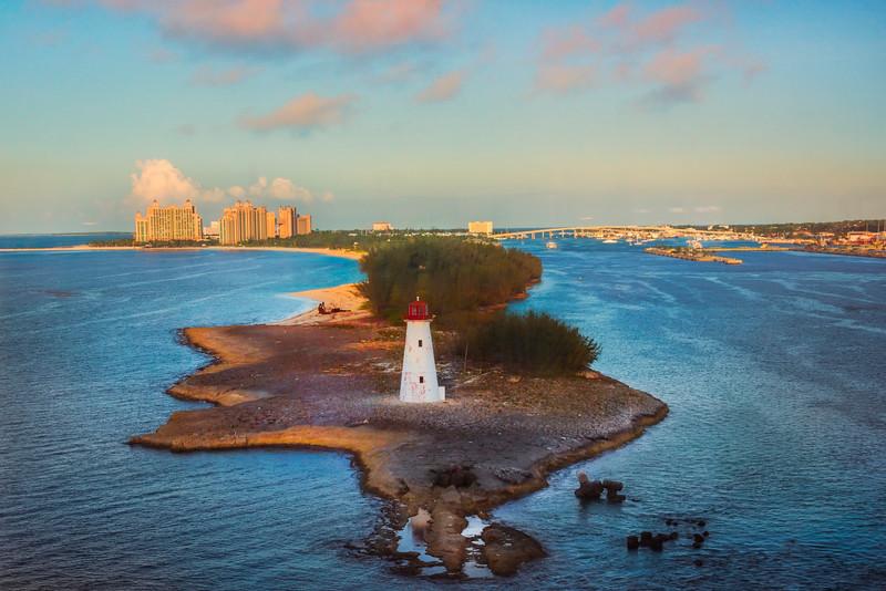 Last Look At Nassau At Sunset