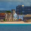 Dilapated Buildings Along The Coast Of Bridgetown Bridgetown, Barbados, Caribbean Islands