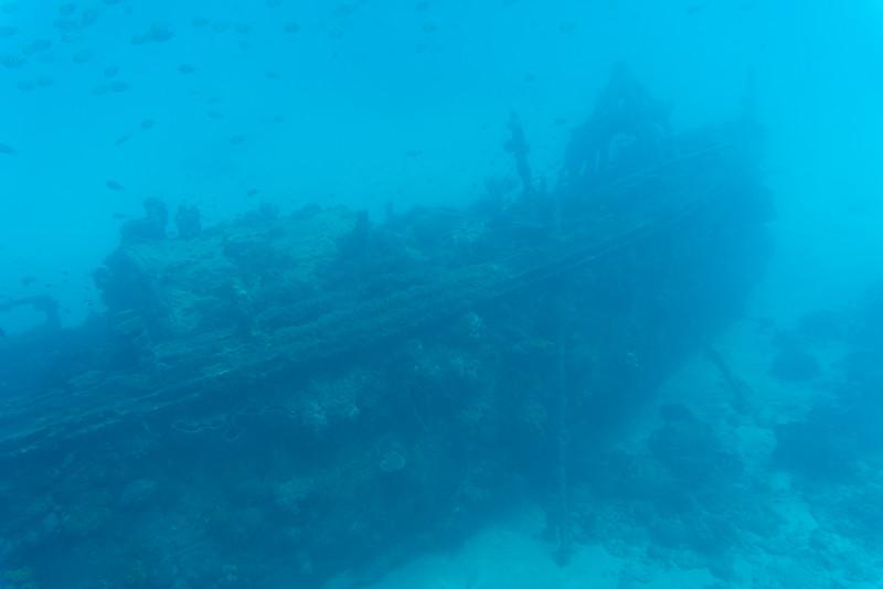 Front Of A Ship Wreck Bridgetown, Barbados, Caribbean Islands