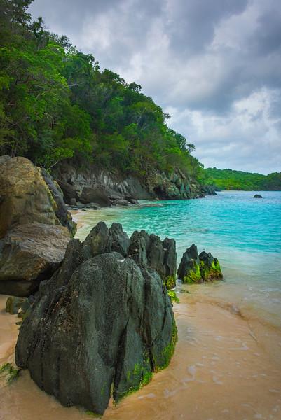 Pinnacles Of Trunk Bay Beach On St Johns _ St Johns, Caribbean Islands