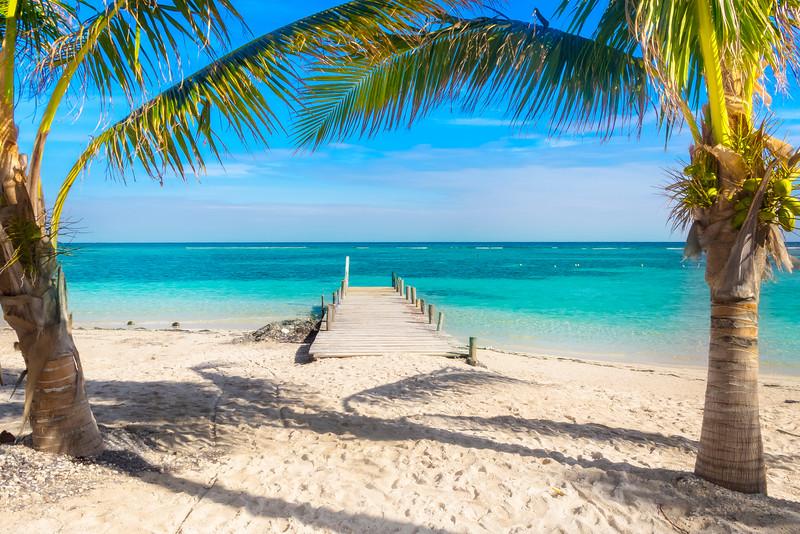 The Solitude Of Having A Beach To Yourself - Caribbean Sea,  Quintana Roo, Mexico