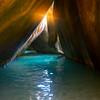 The Light At The End Of The Tunnel - The Baths, Virgin Gorda, British Virgin Islands, Caribbean