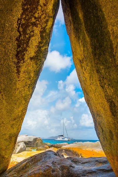 The Caribbean Triangle - The Baths, Virgin Gorda, British Virgin Islands, Caribbean
