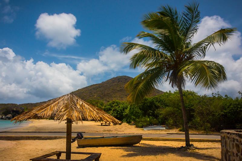 A Tropical Beach Solitude - Virgin Gorda, British Virgin Islands, Caribbean