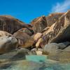 A Cove Of Big Rocks - The Baths, Virgin Gorda, British Virgin Islands, Caribbean