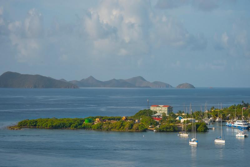 Heading Into The British Virgin Islands - Tortola, British Virgin Islands