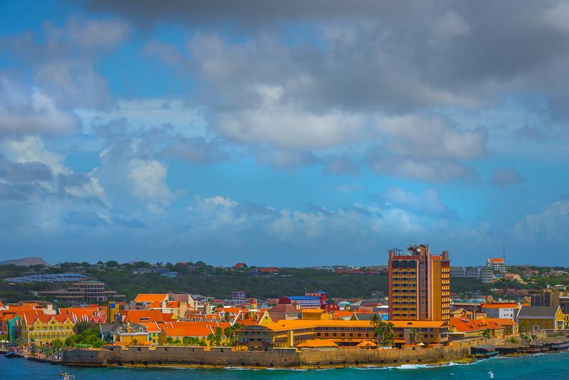 The Resort Complex Along The Curacao - Curacao, Caribbean Islands