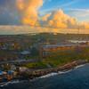 Sunrise Light Over Curacao - Curacao, Caribbean Islands