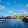 Curacao Marina And Boats In Morning - Curacao, Caribbean Islands
