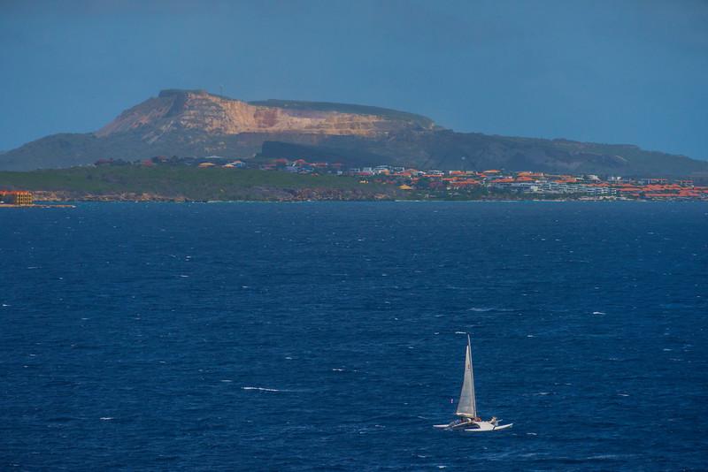 Sailing The Banks Of Curacao - Curacao, Caribbean Islands