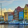Light Showcases Curacao Buildings - Curacao, Caribbean Islands