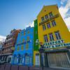 The Color Buildings Along The Main Street In Curacao - Curacao, Caribbean Islands