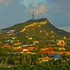 Overlooking The Surrounding Areas Of Curaca - Curacao, Caribbean Islands