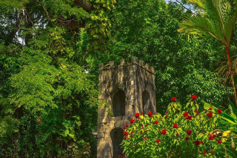 Secret Plantation Gardens Of St Kitts St Kitts, Caribbean Islands