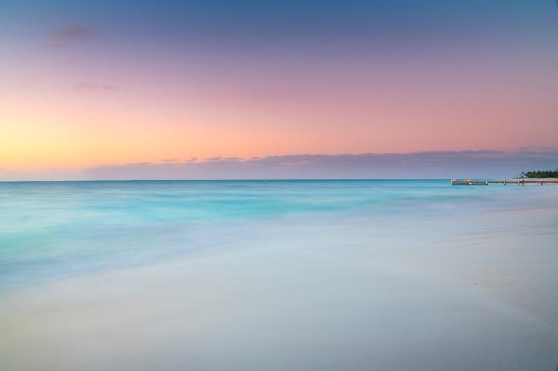 Dreamy Pastels On Secret Beach