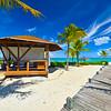 Boardwalk And Massage Hut - Grace Bay, Providenciales, Turks & Caicos, Caribbean