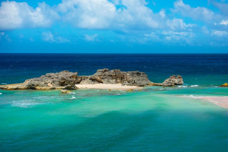 Mudjin Harbor From Above - Mudjin Harbor, Middle Caicos, Turks & Caicos, Caribbean