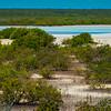 Flamingo Pond Viewpoint On Middle Caicos - North Caicos, Turks & Caicos, Caribbean