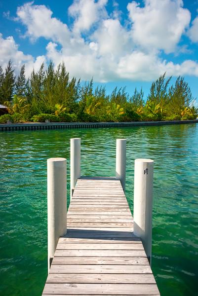 Color Surrounding The North Caicos Marina - North Caicos, Turks & Caicos, Caribbean