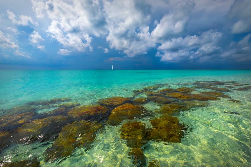 Sailing By Paradise - Grace Bay, Providenciales, Turks & Caicos, Caribbean