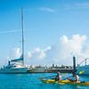 Kayaking In Provo - Providenciales Marina, Turks & Caicos, Caribbean
