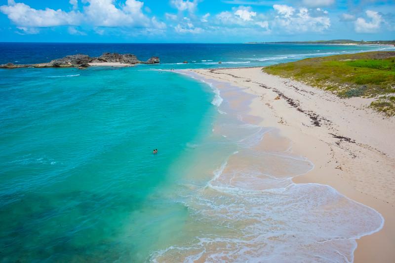 Overlooking Mudjin Harbor - Mudjin Harbor, Middle Caicos, Turks & Caicos, Caribbean