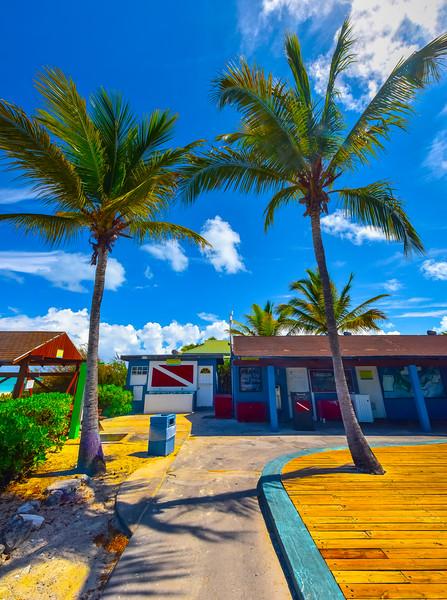 Club Med Snorkelling Shack - Grace Bay, Providenciales, Turks & Caicos, Caribbean