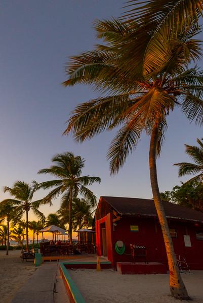Sunset At Sharkies - Grace Bay, Providenciales, Turks & Caicos, Caribbean