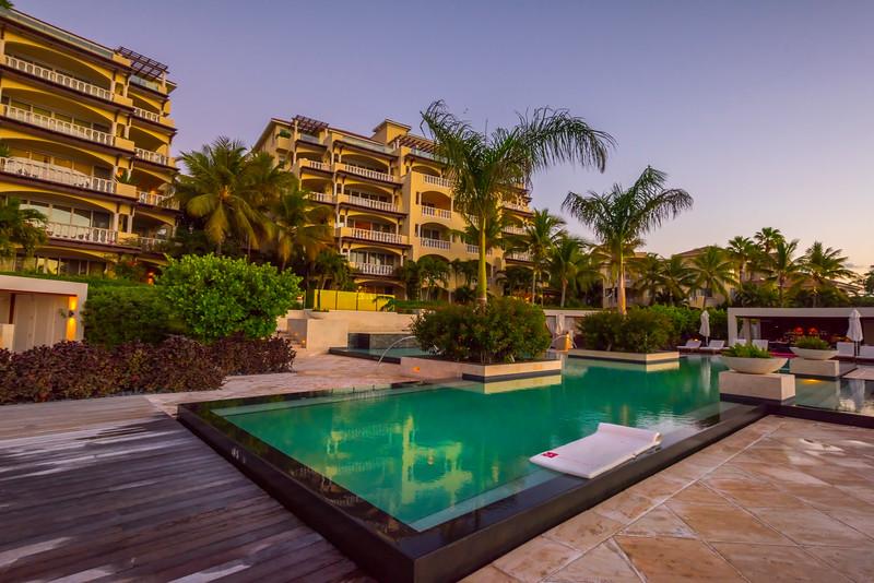 Hotel Pools Along Grace Bay - Grace Bay, Providenciales, Turks & Caicos, Caribbean