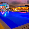 Club Med Pool At Night