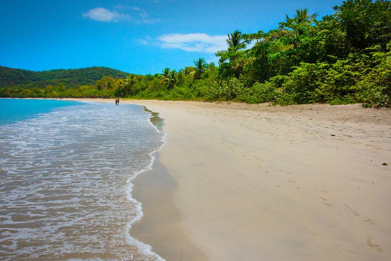 A Walk Along A Tropical Beach -  Charlotte Amalie , St. Thomas, US Virgin Islands