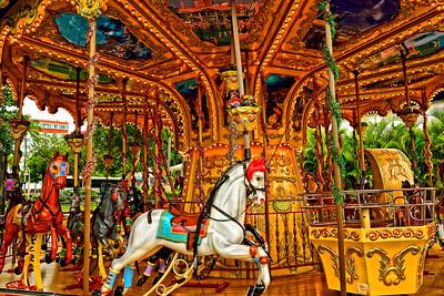 Antique Carousel-Miami, Florida