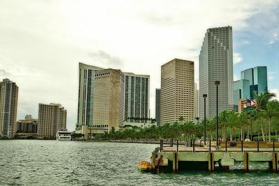 Skyline-Miami, Florida
