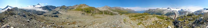 360 degree panorama at Mt. Quanstrom.
