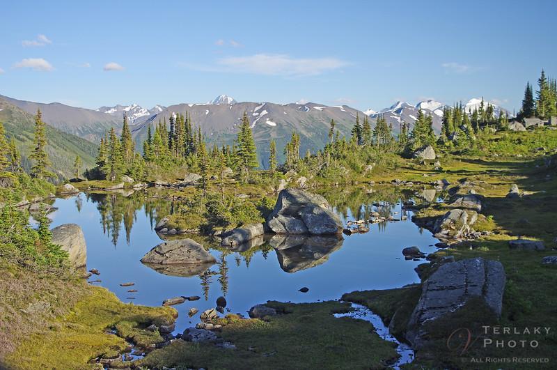 Lake at camp.