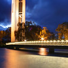 Carillon at night, Lake Burley Griffin, Canberra