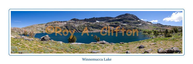 (P7875) Winnemucca Lake Panorama