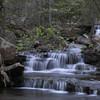 Small Cascade, West Prong, West Fork Point Remove Creek, Gulf Mountain WMA, Arkansas