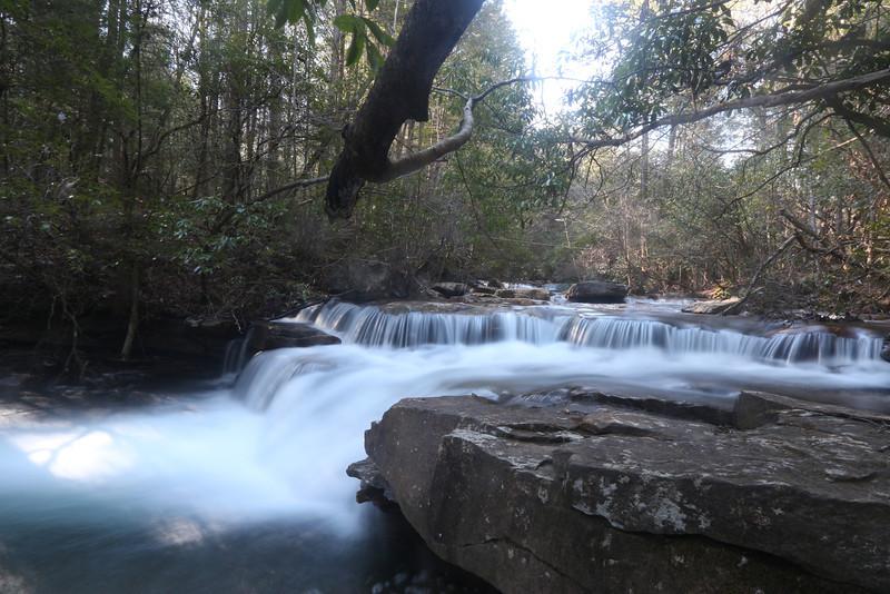 Unnamed Cascade on Big Laurel Creek, Bridgestone / Firestone Centennial Wilderness, Tennessee