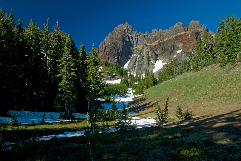 Upper Canyon Creek and Three Fingered Jack
