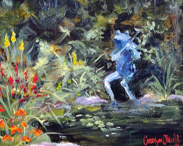 Blue Grass Frog